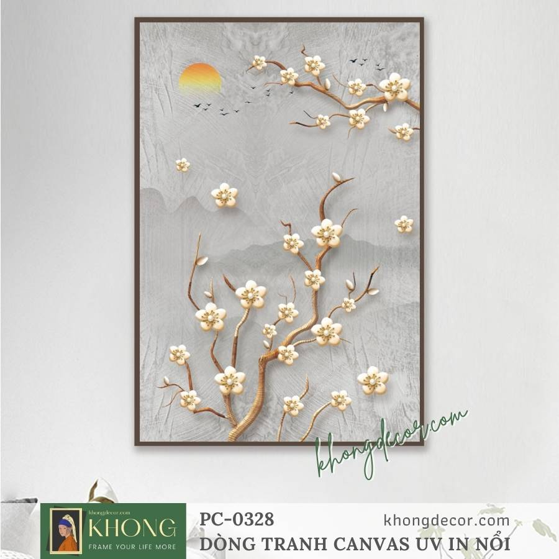 Các loại tranh treo tường đẹp, tranh canvas nghệ thuật