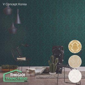 Giấy dán tường V-concept Korea 7905 - 4 | Giấy dán tường Hàn Quốc