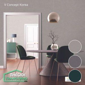 Giấy dán tường V-concept Korea 7907 - 2 | Giấy dán tường Hàn Quốc