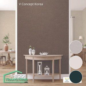 Giấy dán tường V-concept Korea 7907 - 9 | Giấy dán tường Hàn Quốc