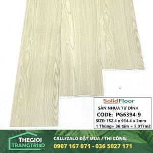 Sàn nhựa vân gỗ tự dán Solid Floor PG6394