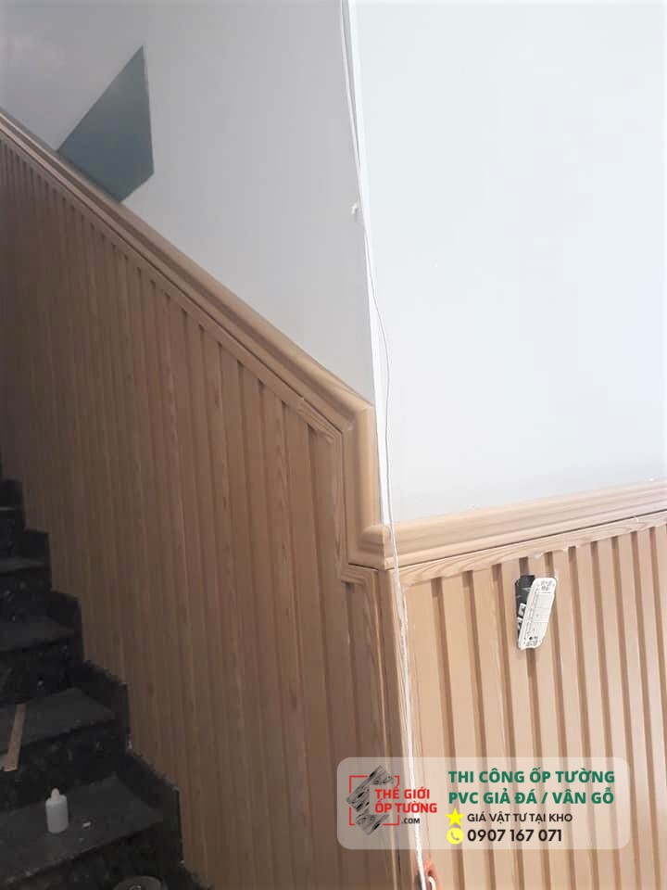Ứng dụng tấm ốp giả gỗ composite cao cấp trang trí cho nội thất